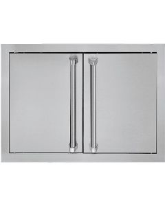 VIKING Pro Outdoor Accessories : Double Access Door Stainless : AD52820SS