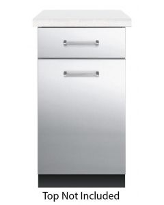 """30"""" VIKING Pro Outdoor Accessories : 18""""W. Outdoor Base Cabinet Stainless : VBO1811SS"""