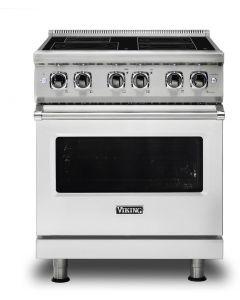 """30"""" VIKING Pro Ranges : 24""""D. Induction Self Clean Range 4 Burners : VIR53014B"""