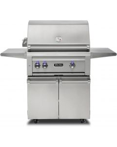 """30"""" VIKING Pro Outdoor Grill : Freestanding Grill With Prosear Burner and Rotisserie (l30psfr2) : VQGFS5301NSS"""