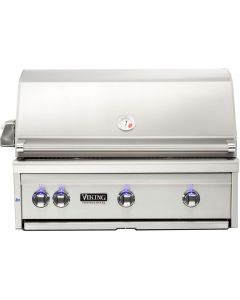 """36"""" VIKING Pro Outdoor Grill : Built In Grill With Prosear Burner and Rotisserie : VQGI5361NSS"""