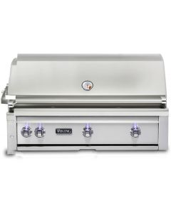 """42"""" VIKING Pro Outdoor Grill : Built In Grill With Prosear Burner and Rotisserie : VQGI5421LSS"""