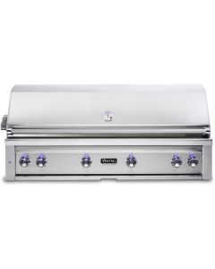 """54"""" VIKING Pro Outdoor Grill : Built In Grill With Prosear Burner and Rotisserie : VQGI5541NSS"""