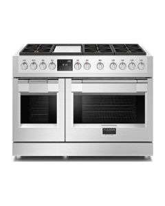"48"" Freestanding Sofia, 6 Burner Dual Fuel Range, Griddle"
