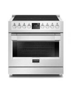 "36"" Freestanding Sofia, 5 Burner Induction Range, Stainless"