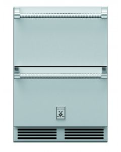 """24"""" HESTAN Outdoor Refrigerator Drawers, with Lock"""