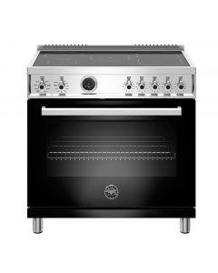 "36"" Bertazzoni Professional Series Range Electric Self Clean Oven 5 Induction Zones"