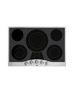 """30"""" VIKING 3 Series Cooktops : Electric Radiant Cooktop 5 Elements Stainless Black : RVEC3305BSB"""