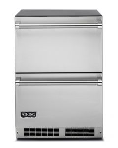 """24"""" VIKING Pro Undercounter Refrigeration : Refrigerated Drawers Stainless : VDUI5240DSS"""
