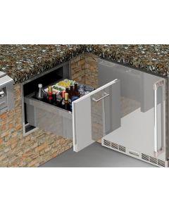 Alfresco 26-Inch Under Counter Ice Drawer & Beverage Center