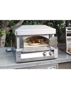 Alfresco 30-Inch Pizza Oven for Countertop Mounting