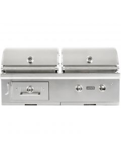 Coyote Centaur 50-Inch Built-In Natural Gas/Charcoal Dual Fuel Grill