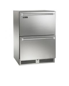 24-Outdoor Refrigerated Drawers Stainless