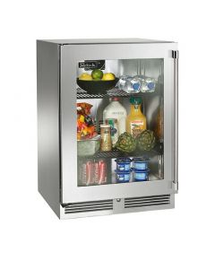 24-Outdoor Refrigerator Glass