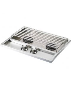 Lynx 22 Inch Built-In Double Side Burner