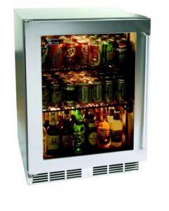 "24"" Perlick Signature Series Outdoor Undercounter Refrigerator"