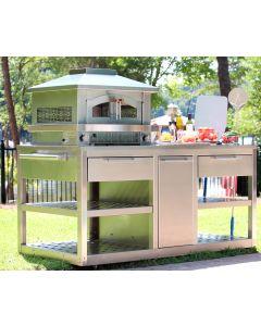 Outdoor Pizza Oven Cart