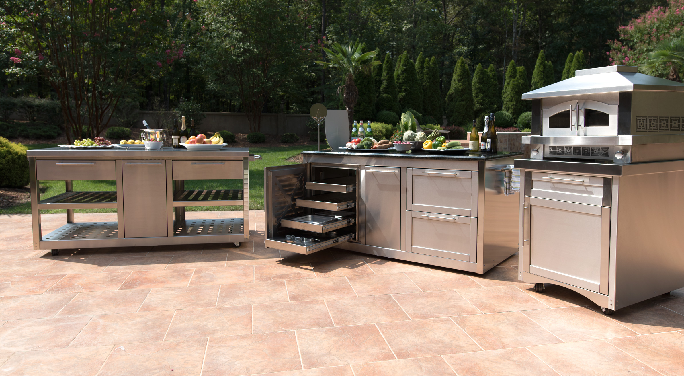 find your spot temporary or permanent and let the cart feet down lets get the party started with the best stainless steel outdoor kitchen cabinets - Outdoor Kitchen Cabinets