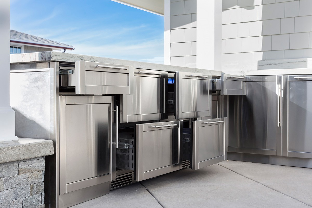 John Michael Stainless Steel Outdoor Kitchens | John Michael ...